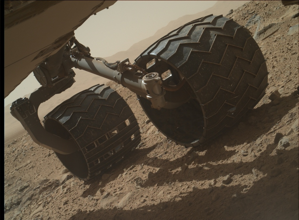 NASA's Mars rover Curiosity acquired this image using its Mars Hand Lens Imager (MAHLI) on Sol 515