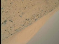 NASA's Mars rover Curiosity acquired this image using its Mars Hand Lens Imager (MAHLI) on Sol 519