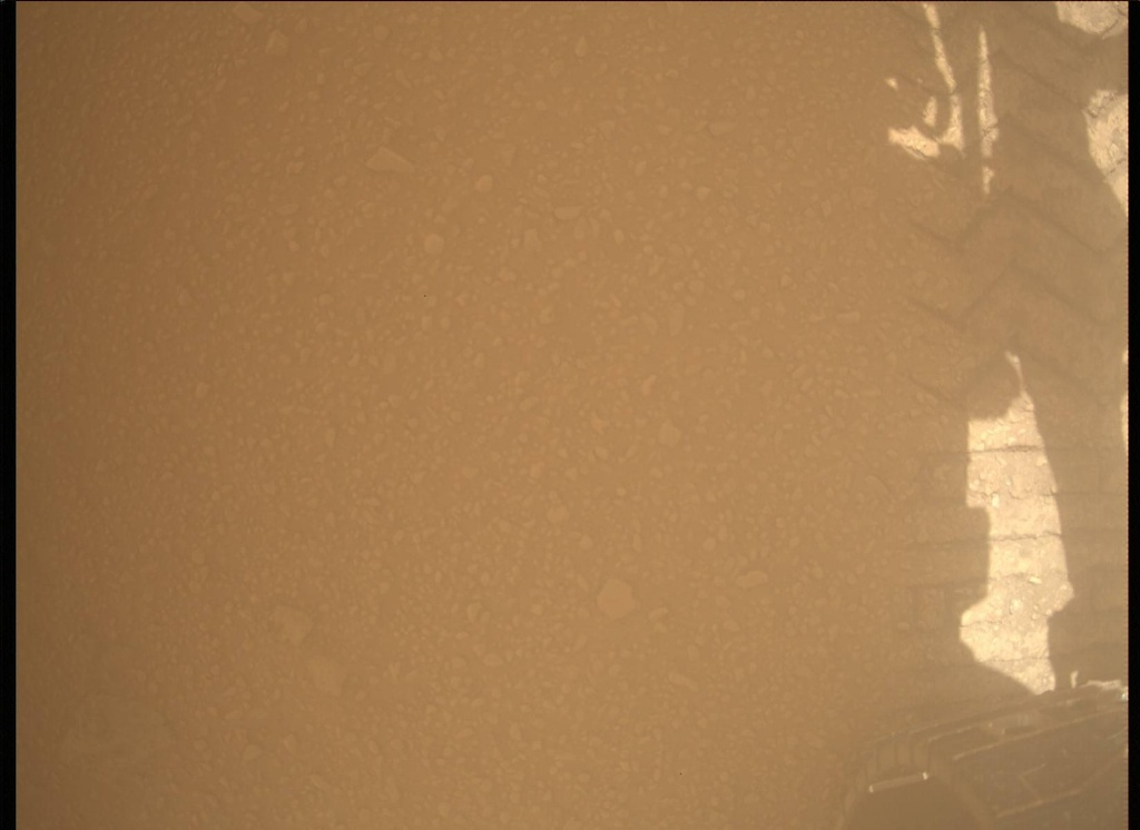 NASA's Mars rover Curiosity acquired this image using its Mars Descent Imager (MARDI) on Sol 521
