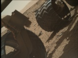 Image taken by Mars Hand Lens Imager