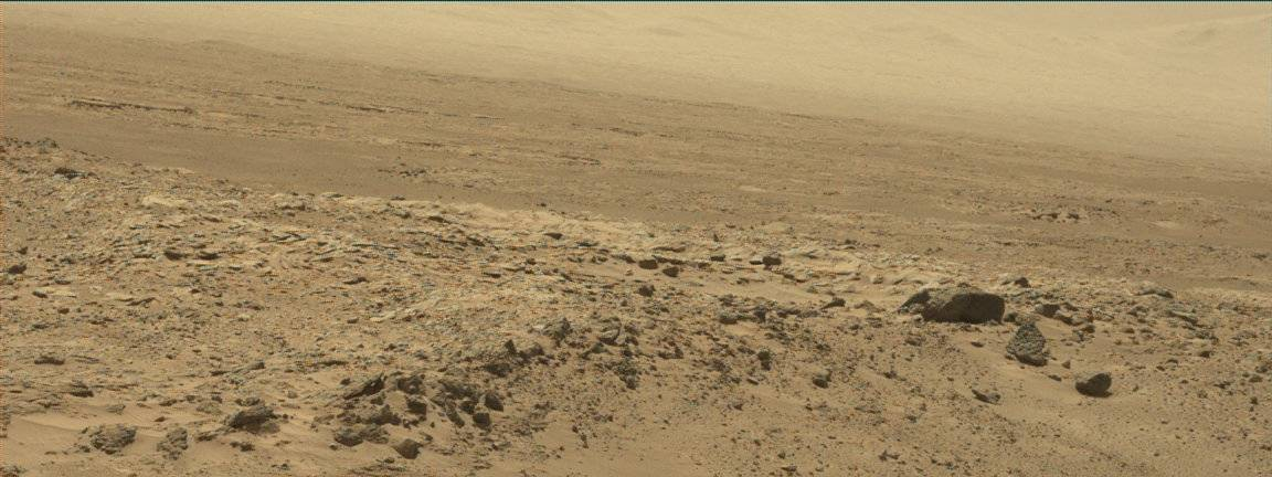 Nasa's Mars rover Curiosity acquired this image using its Mast Camera (Mastcam) on Sol 527