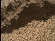 NASA's Mars rover Curiosity acquired this image using its Mars Hand Lens Imager (MAHLI) on Sol 531
