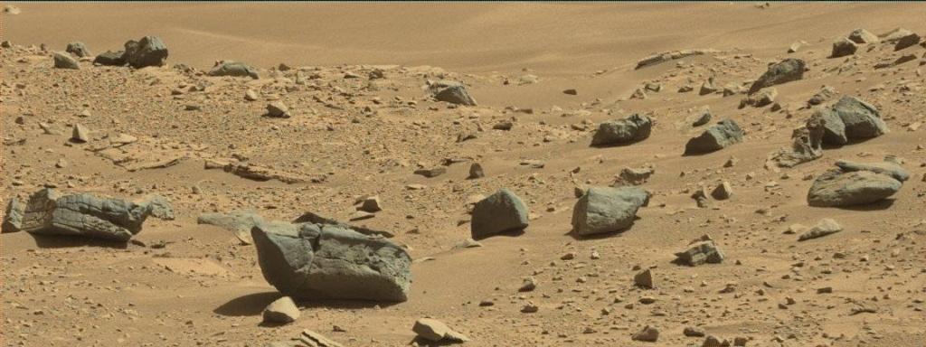 NASA's Mars rover Curiosity acquired this image using its Mast Camera (Mastcam) on Sol 533