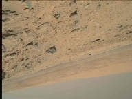 NASA's Mars rover Curiosity acquired this image using its Mars Hand Lens Imager (MAHLI) on Sol 533