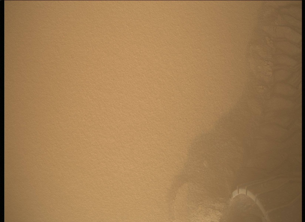 NASA's Mars rover Curiosity acquired this image using its Mars Descent Imager (MARDI) on Sol 534
