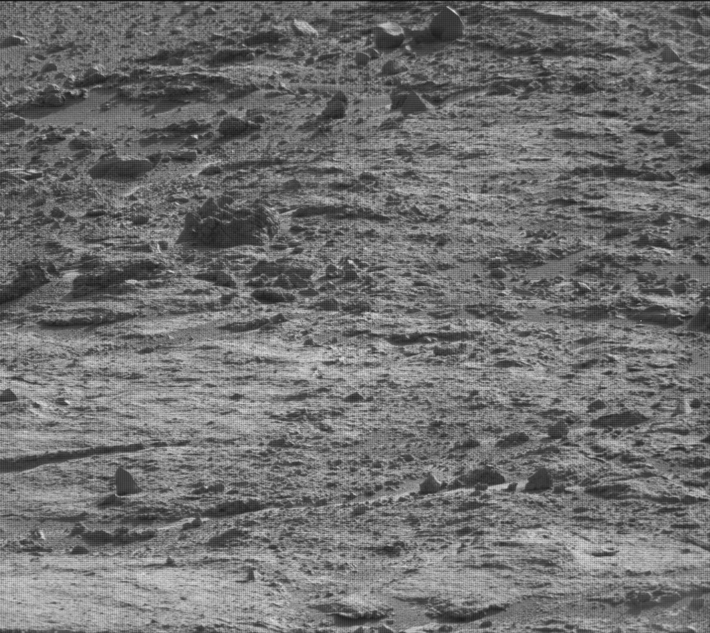 NASA's Mars rover Curiosity acquired this image using its Mast Camera (Mastcam) on Sol 538