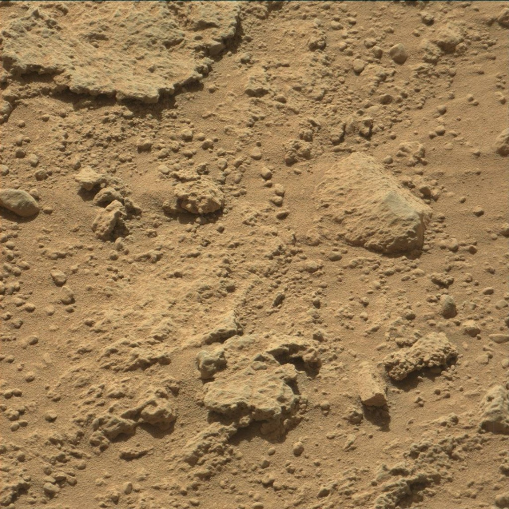 NASA's Mars rover Curiosity acquired this image using its Mast Camera (Mastcam) on Sol 539