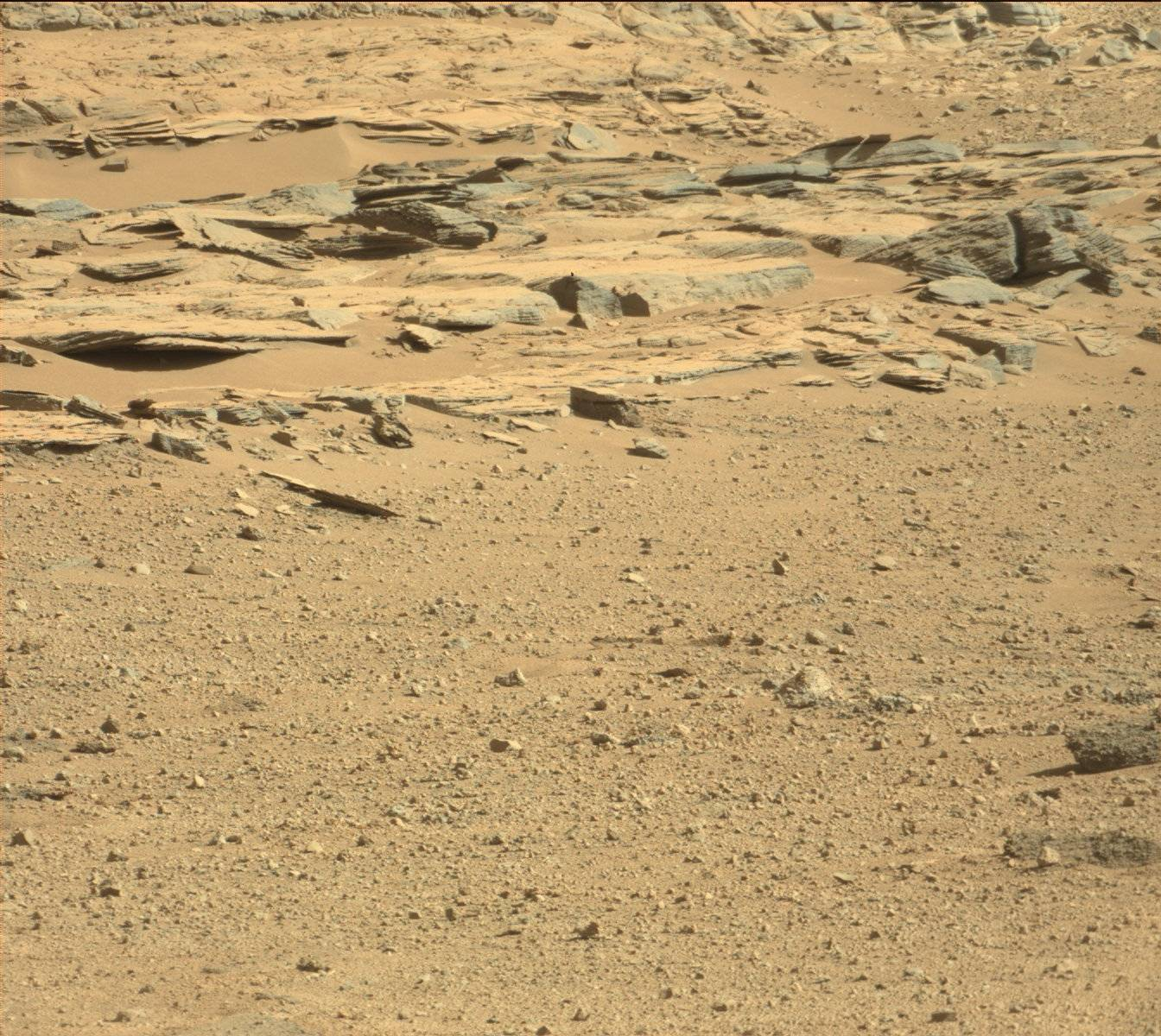 Nasa's Mars rover Curiosity acquired this image using its Mast Camera (Mastcam) on Sol 547