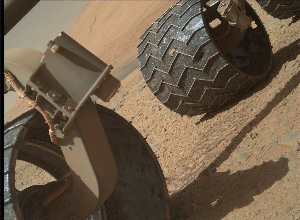 NASA's Mars rover Curiosity acquired this image using its Mars Hand Lens Imager (MAHLI) on Sol 564