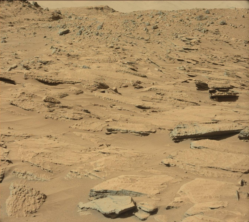 NASA's Mars rover Curiosity acquired this image using its Mast Camera (Mastcam) on Sol 569