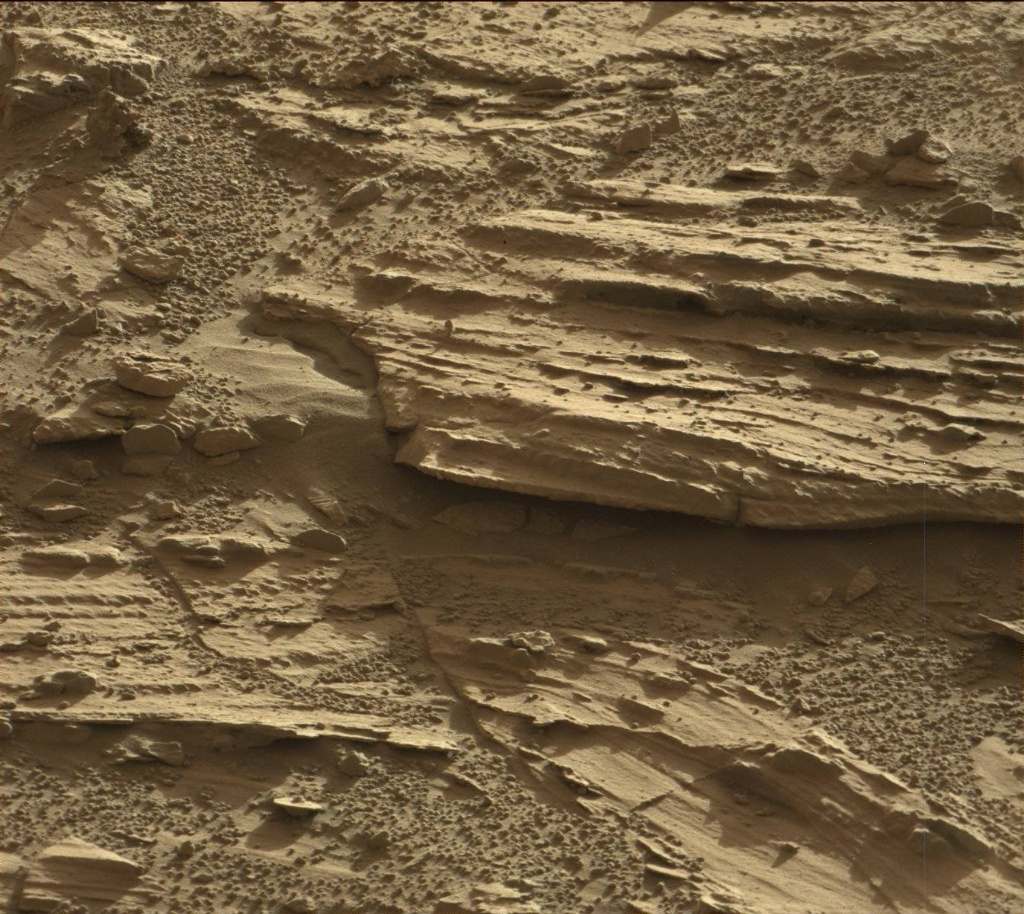 NASA's Mars rover Curiosity acquired this image using its Mast Camera (Mastcam) on Sol 606