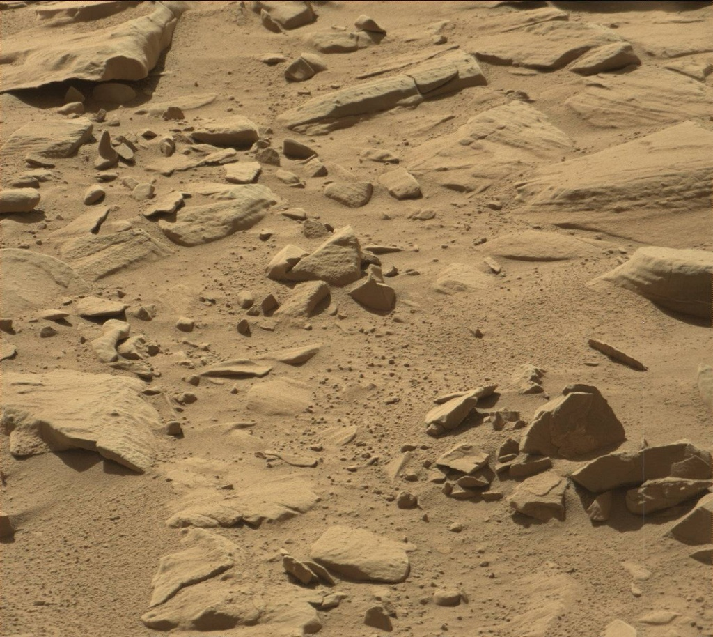 NASA's Mars rover Curiosity acquired this image using its Mast Camera (Mastcam) on Sol 608