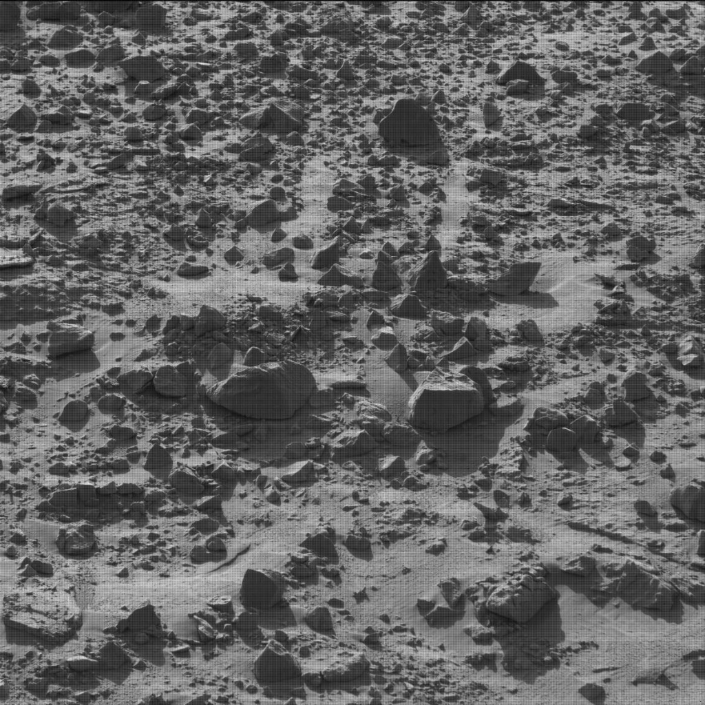 NASA's Mars rover Curiosity acquired this image using its Mast Camera (Mastcam) on Sol 610