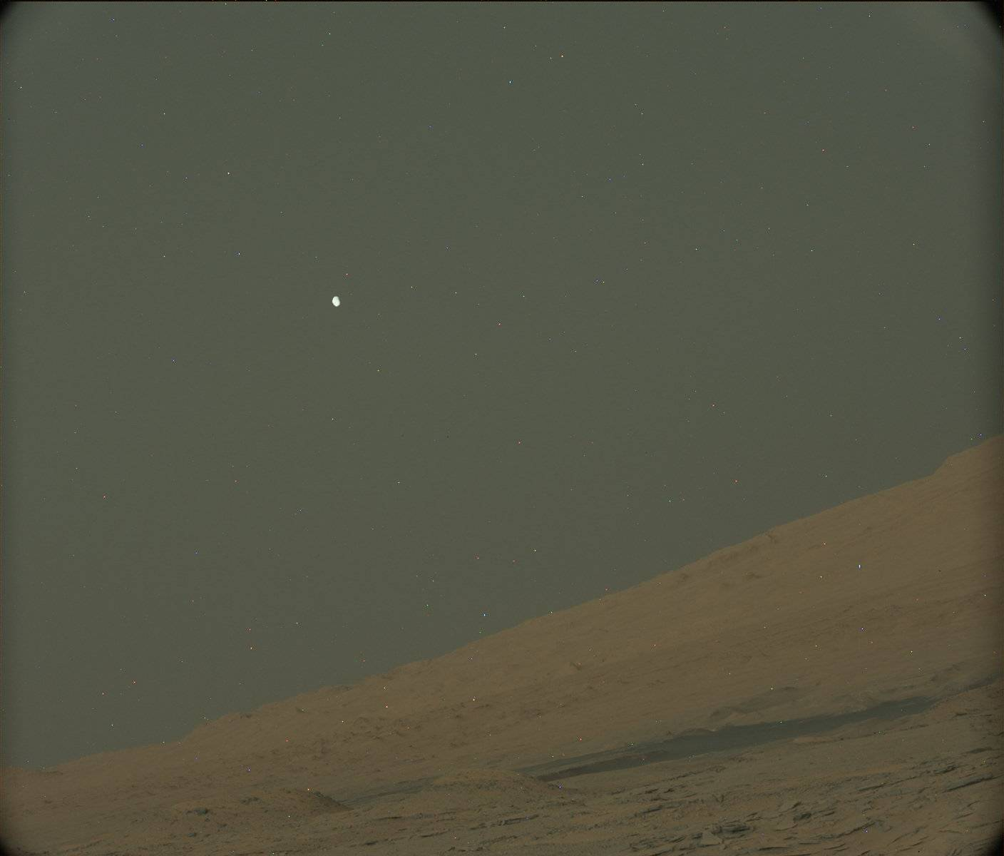 mars phobos from mars view - photo #14