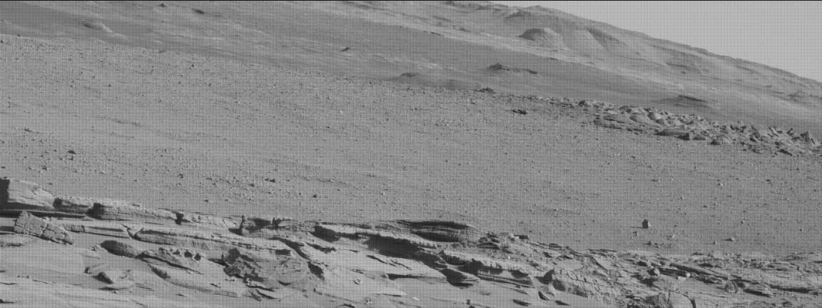 Nasa's Mars rover Curiosity acquired this image using its Mast Camera (Mastcam) on Sol 620
