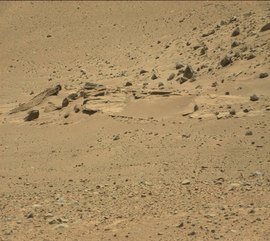 NASA's Mars rover Curiosity acquired this image using its Mast Camera (Mastcam) on Sol 635