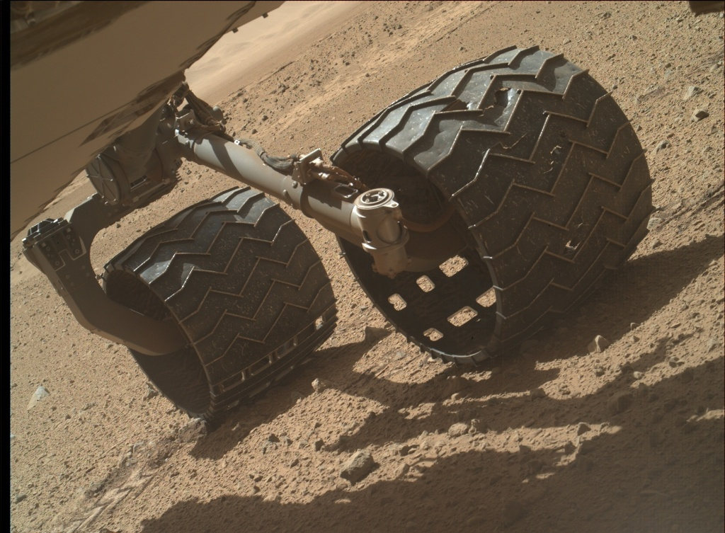 NASA's Mars rover Curiosity acquired this image using its Mars Hand Lens Imager (MAHLI) on Sol 635