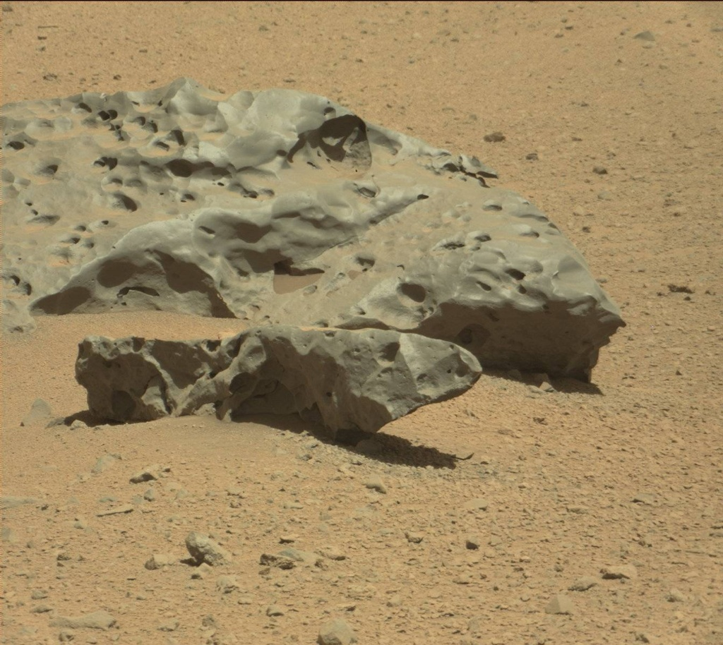 NASA's Mars rover Curiosity acquired this image using its Mast Camera (Mastcam) on Sol 640