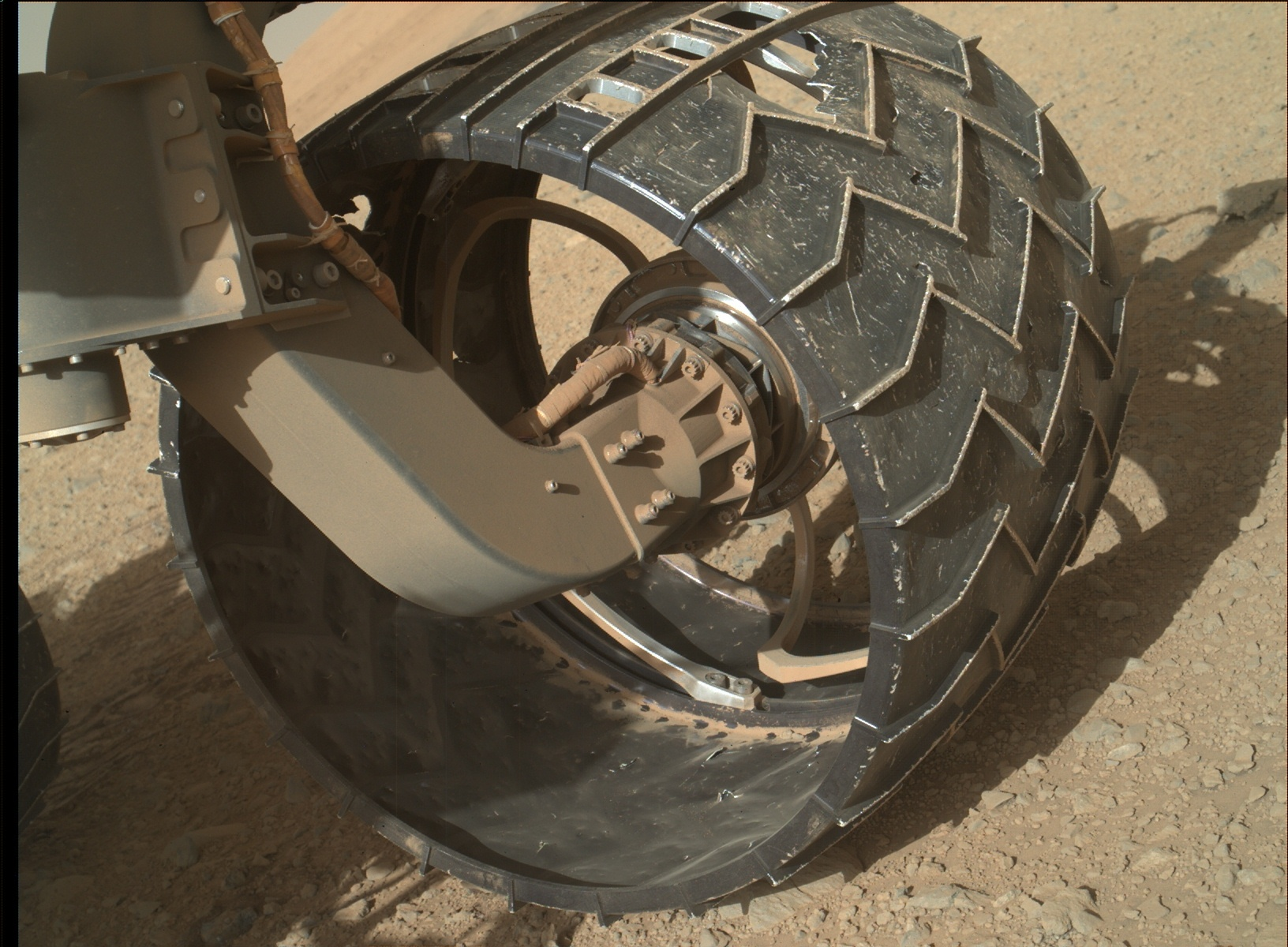 Nasa's Mars rover Curiosity acquired this image using its Mars Hand Lens Imager (MAHLI) on Sol 640