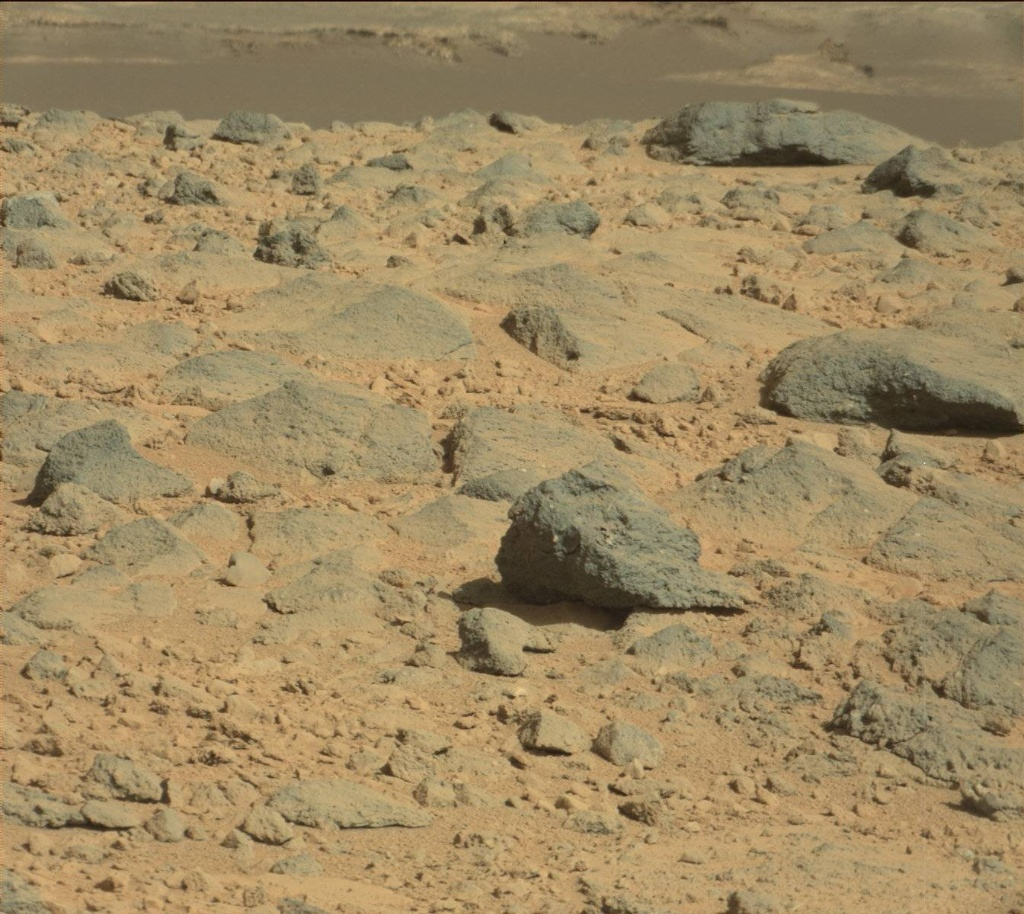 NASA's Mars rover Curiosity acquired this image using its Mast Camera (Mastcam) on Sol 654