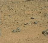 NASA's Mars rover Curiosity acquired this image using its Mast Camera (Mastcam) on Sol 695