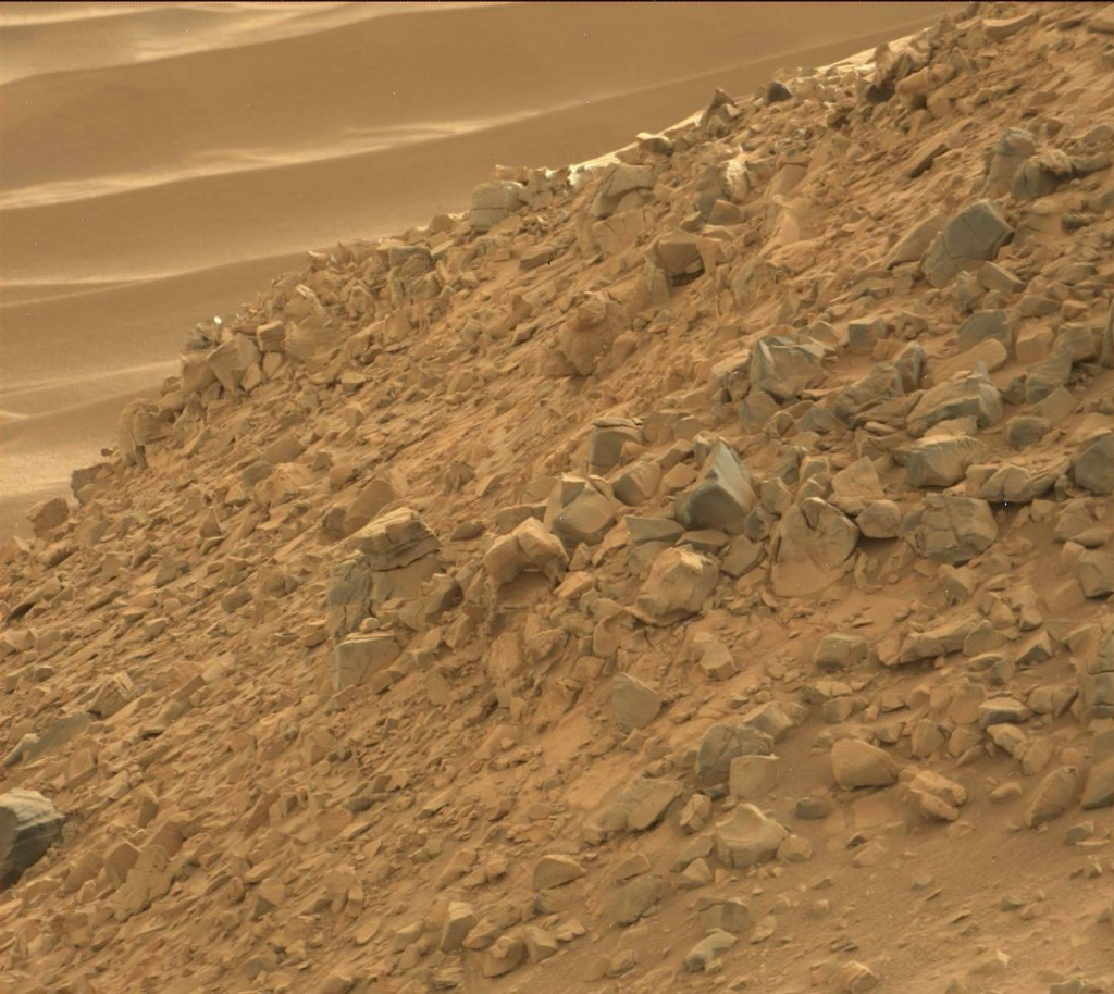 NASA's Mars rover Curiosity acquired this image using its Mast Camera (Mastcam) on Sol 703