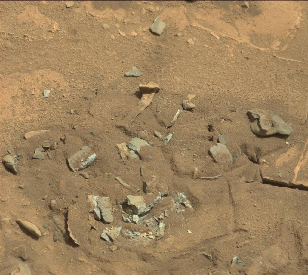 NASA's Mars rover Curiosity acquired this image using its Mast Camera (Mastcam) on Sol 719