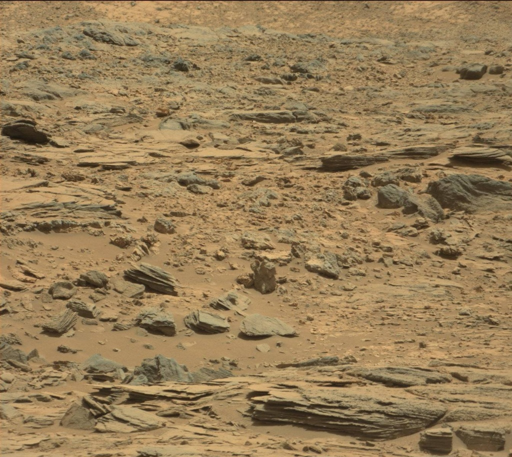 NASA's Mars rover Curiosity acquired this image using its Mast Camera (Mastcam) on Sol 731