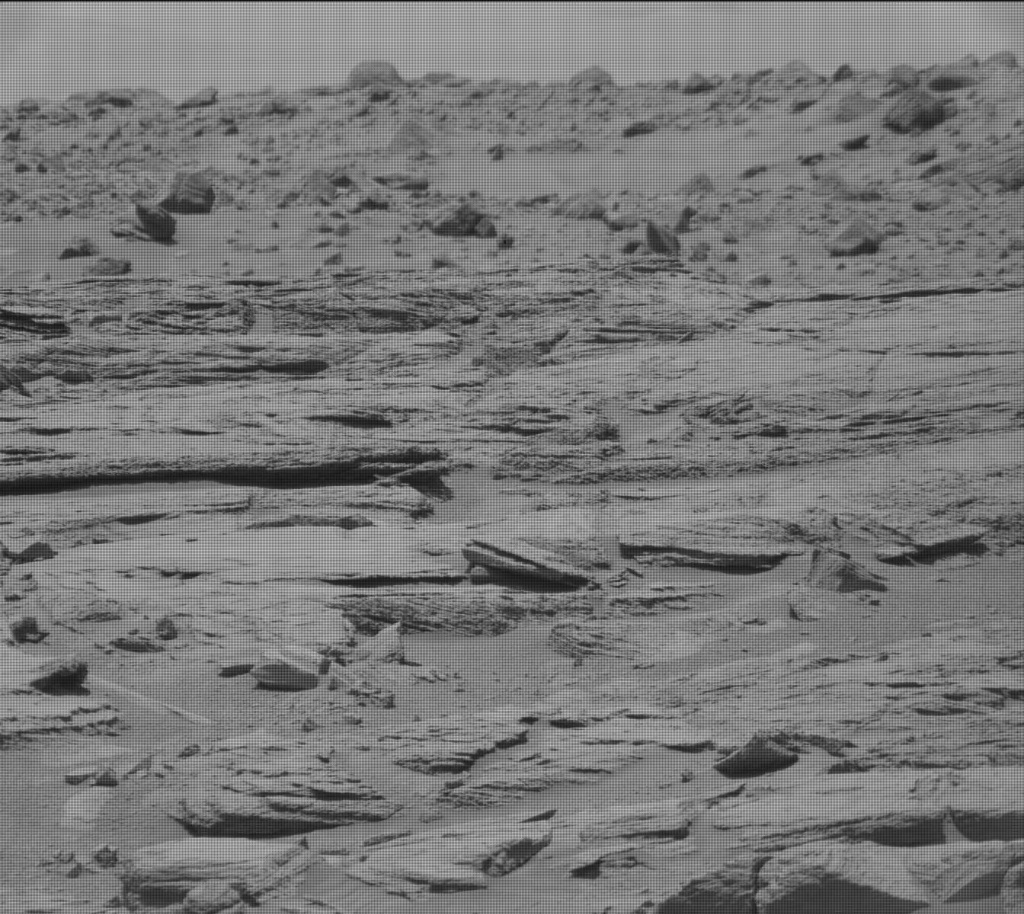 NASA's Mars rover Curiosity acquired this image using its Mast Camera (Mastcam) on Sol 744
