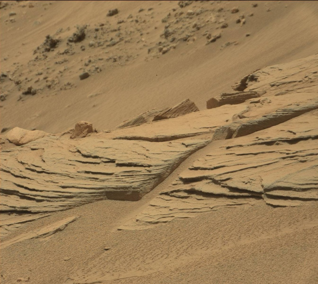 NASA's Mars rover Curiosity acquired this image using its Mast Camera (Mastcam) on Sol 746