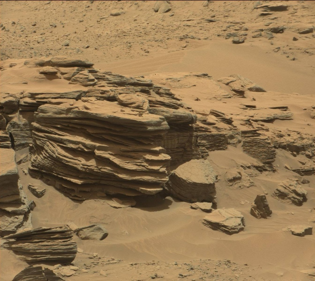 NASA's Mars rover Curiosity acquired this image using its Mast Camera (Mastcam) on Sol 748