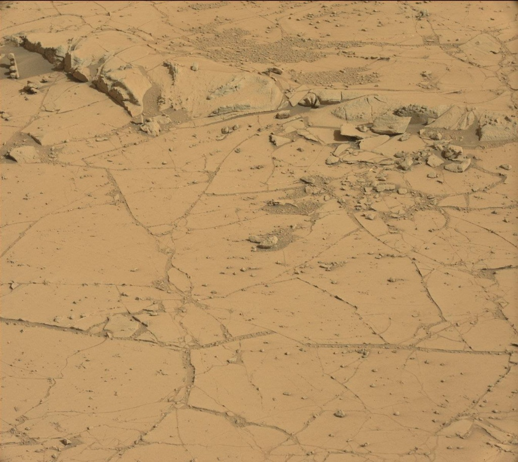 NASA's Mars rover Curiosity acquired this image using its Mast Camera (Mastcam) on Sol 753