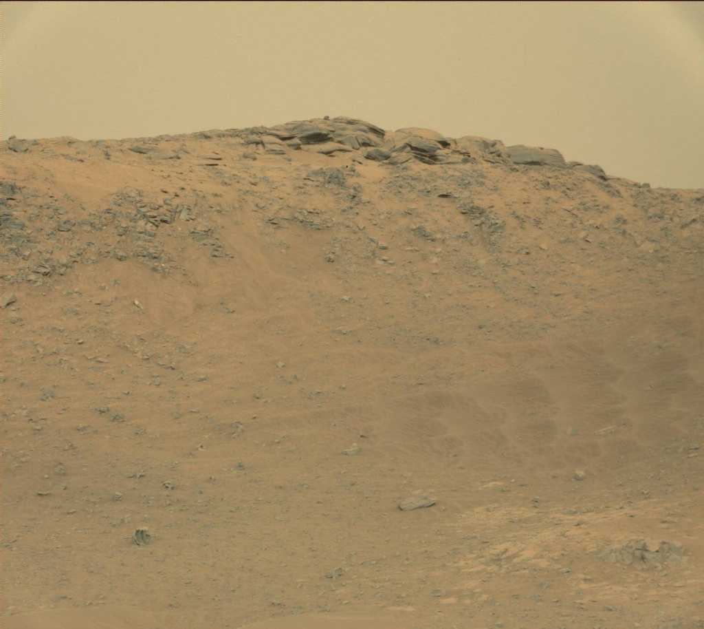 NASA's Mars rover Curiosity acquired this image using its Mast Camera (Mastcam) on Sol 771