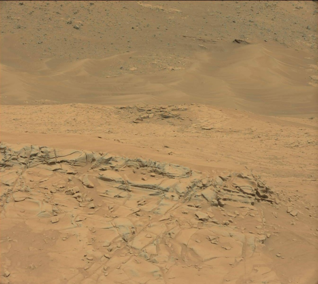 NASA's Mars rover Curiosity acquired this image using its Mast Camera (Mastcam) on Sol 780