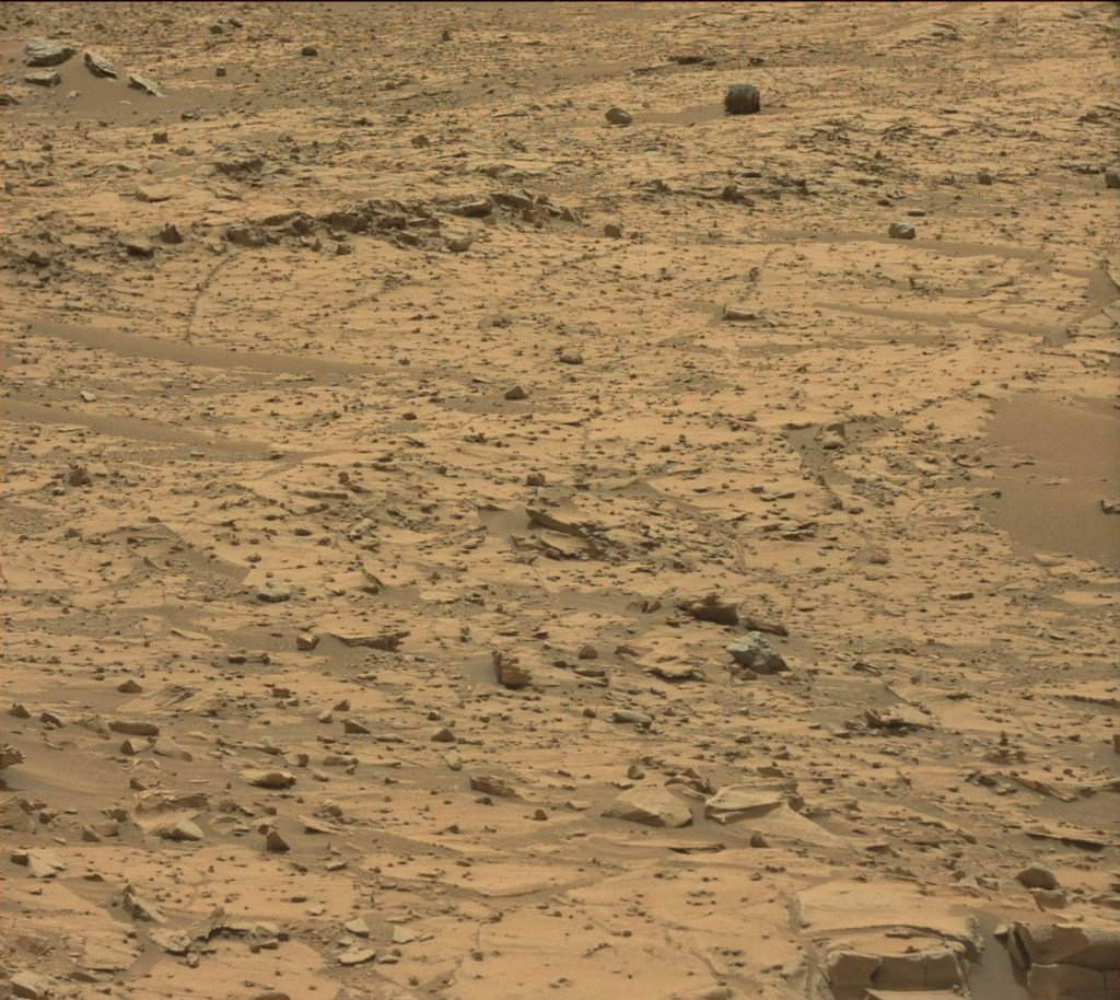 NASA's Mars rover Curiosity acquired this image using its Mast Camera (Mastcam) on Sol 790
