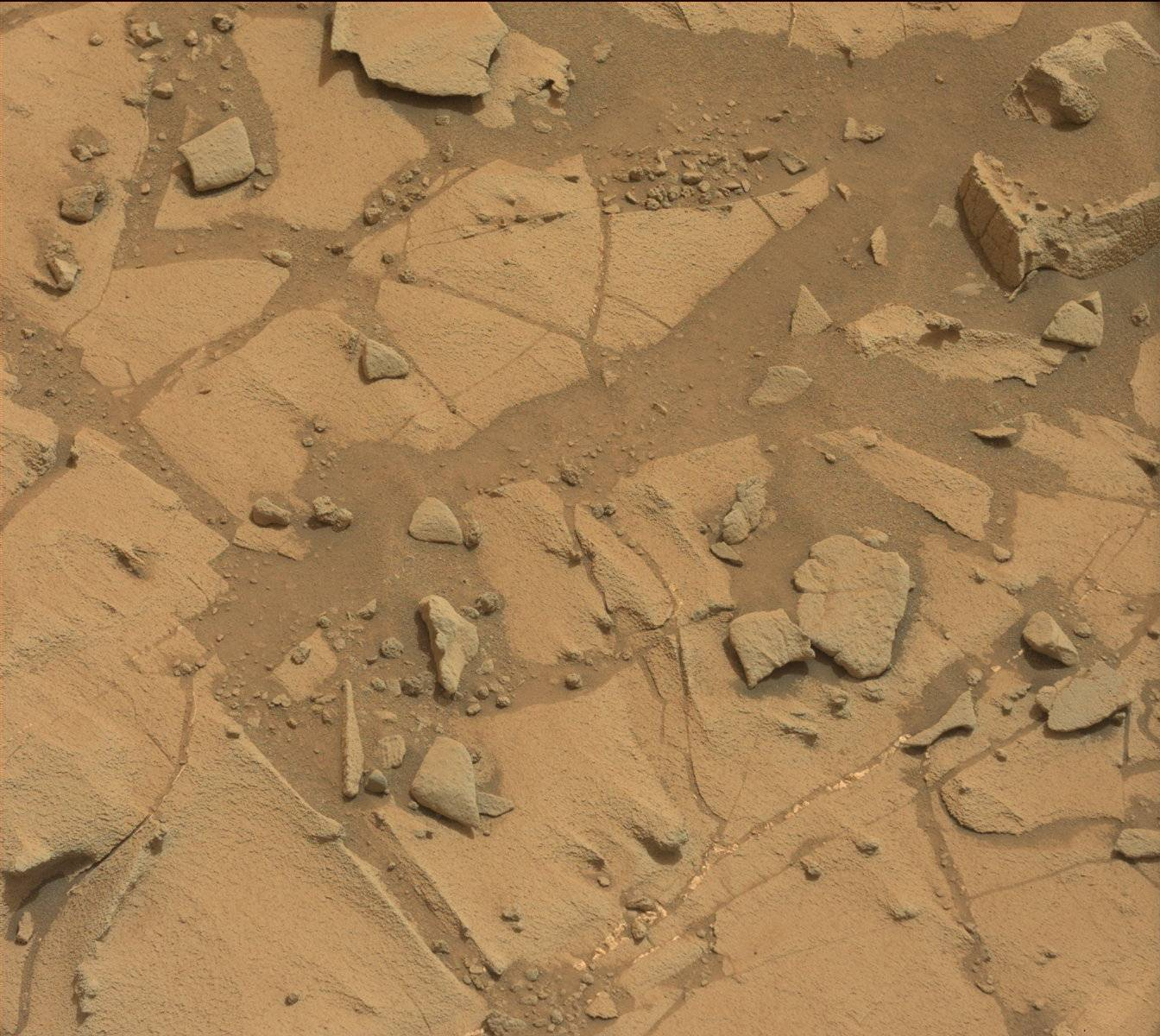 Nasa's Mars rover Curiosity acquired this image using its Mast Camera (Mastcam) on Sol 792