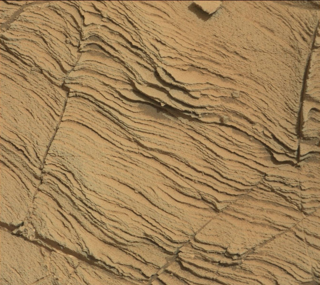 NASA's Mars rover Curiosity acquired this image using its Mast Camera (Mastcam) on Sol 832