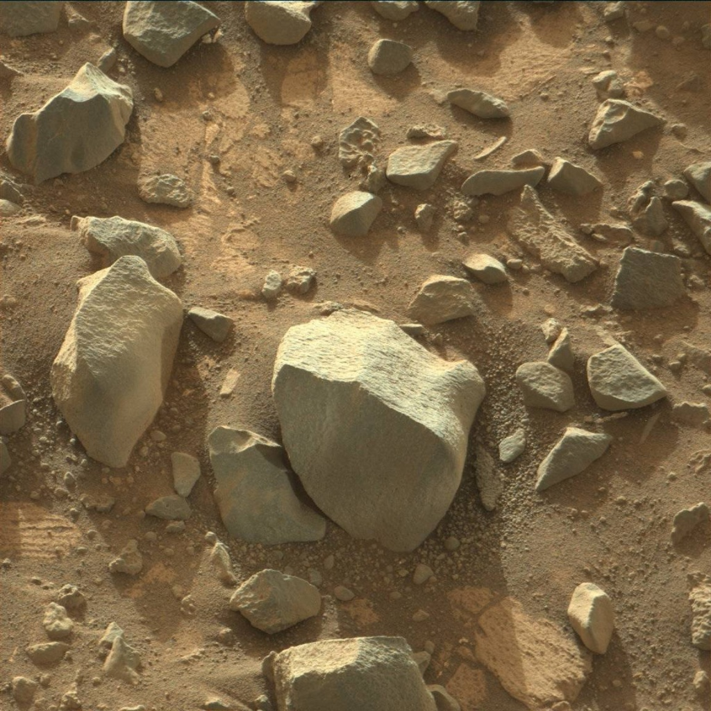 NASA's Mars rover Curiosity acquired this image using its Mast Camera (Mastcam) on Sol 924