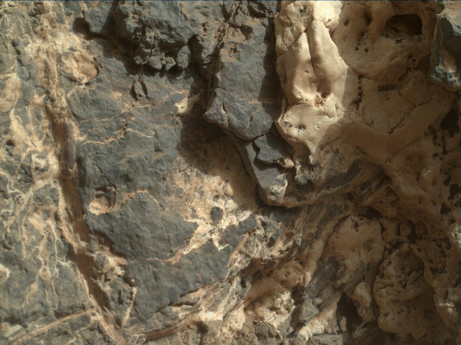 Sol 932 MAHLI image of veins