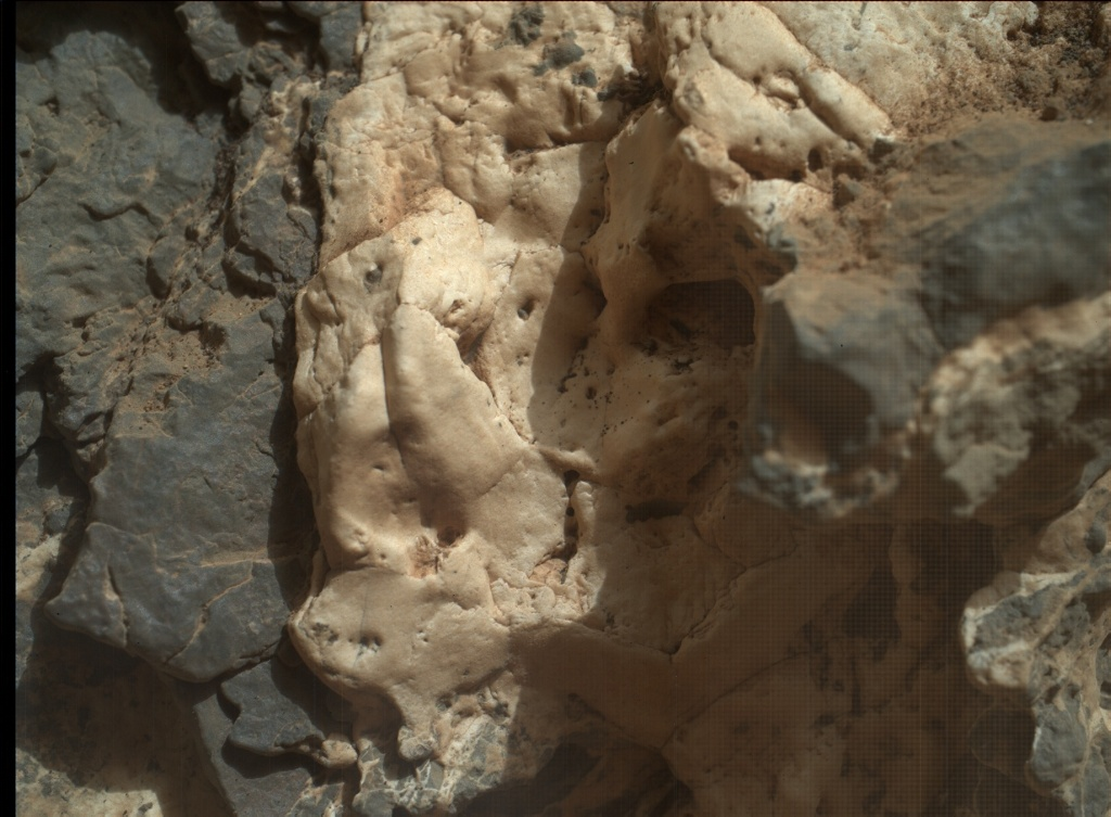 NASA's Mars rover Curiosity acquired this image using its Mars Hand Lens Imager (MAHLI) on Sol 935