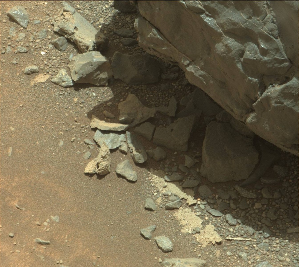 NASA's Mars rover Curiosity acquired this image using its Mast Camera (Mastcam) on Sol 940