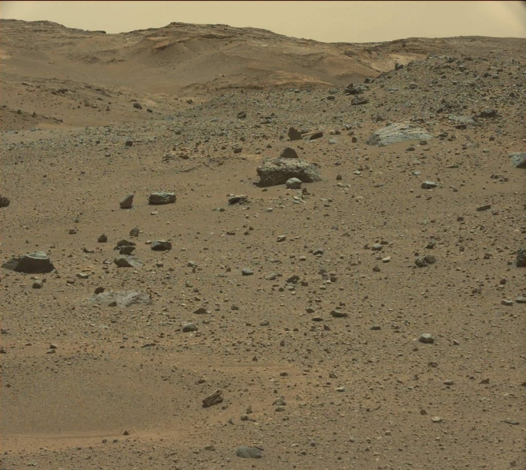 NASA's Mars rover Curiosity acquired this image using its Mast Camera (Mastcam) on Sol 952
