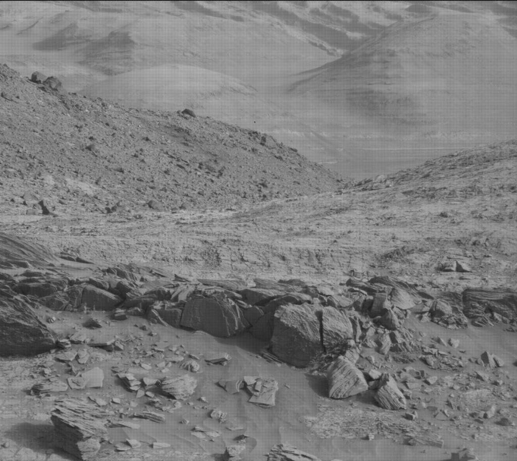 NASA's Mars rover Curiosity acquired this image using its Mast Camera (Mastcam) on Sol 953