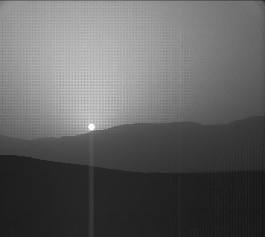 NASA's Mars rover Curiosity acquired this image using its Mast Camera (Mastcam) on Sol 956