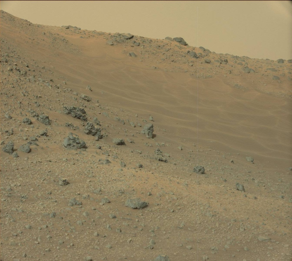 NASA's Mars rover Curiosity acquired this image using its Mast Camera (Mastcam) on Sol 959