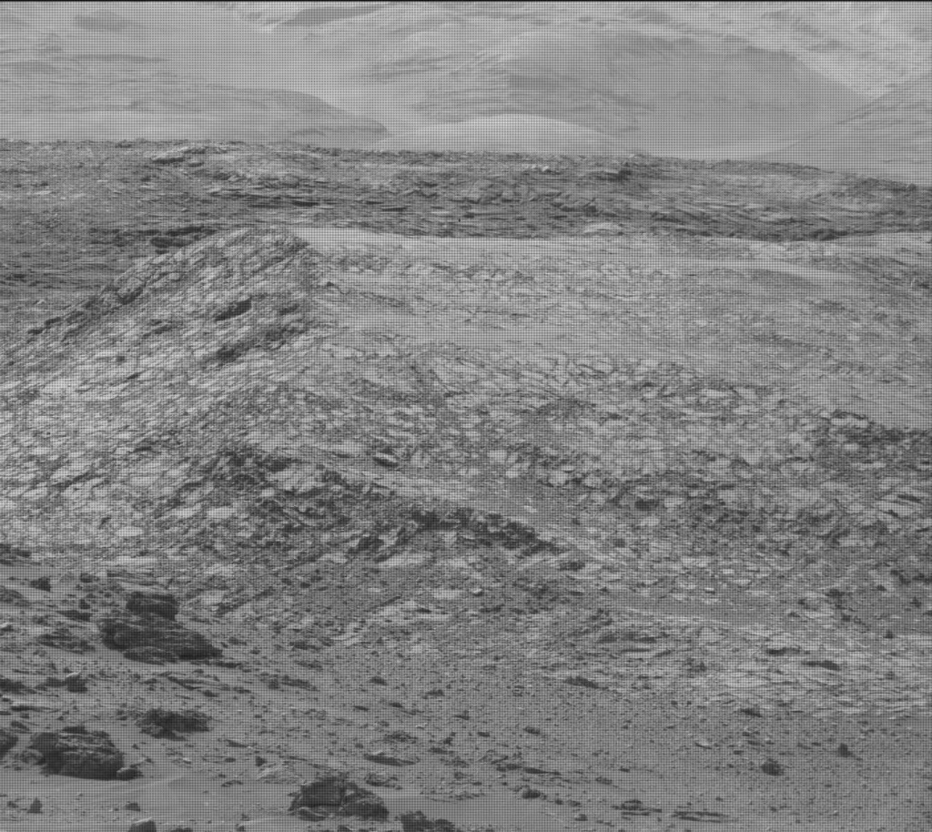 NASA's Mars rover Curiosity acquired this image using its Mast Camera (Mastcam) on Sol 962