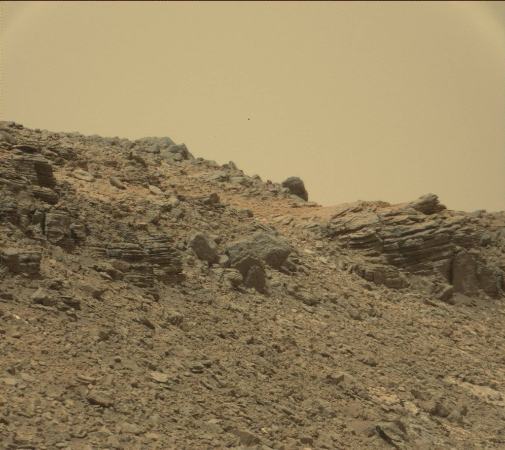 NASA's Mars rover Curiosity acquired this image using its Mast Camera (Mastcam) on Sol 984