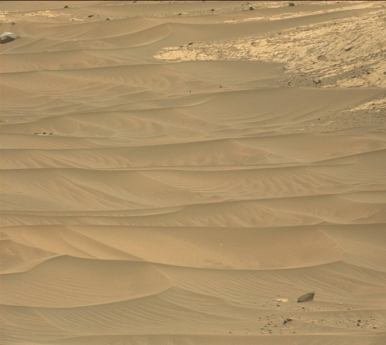 Nasa's Mars rover Curiosity acquired this image using its Mast Camera (Mastcam) on Sol 986