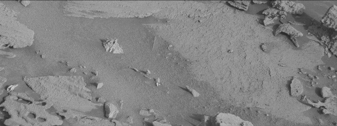 Nasa's Mars rover Curiosity acquired this image using its Mast Camera (Mastcam) on Sol 1000