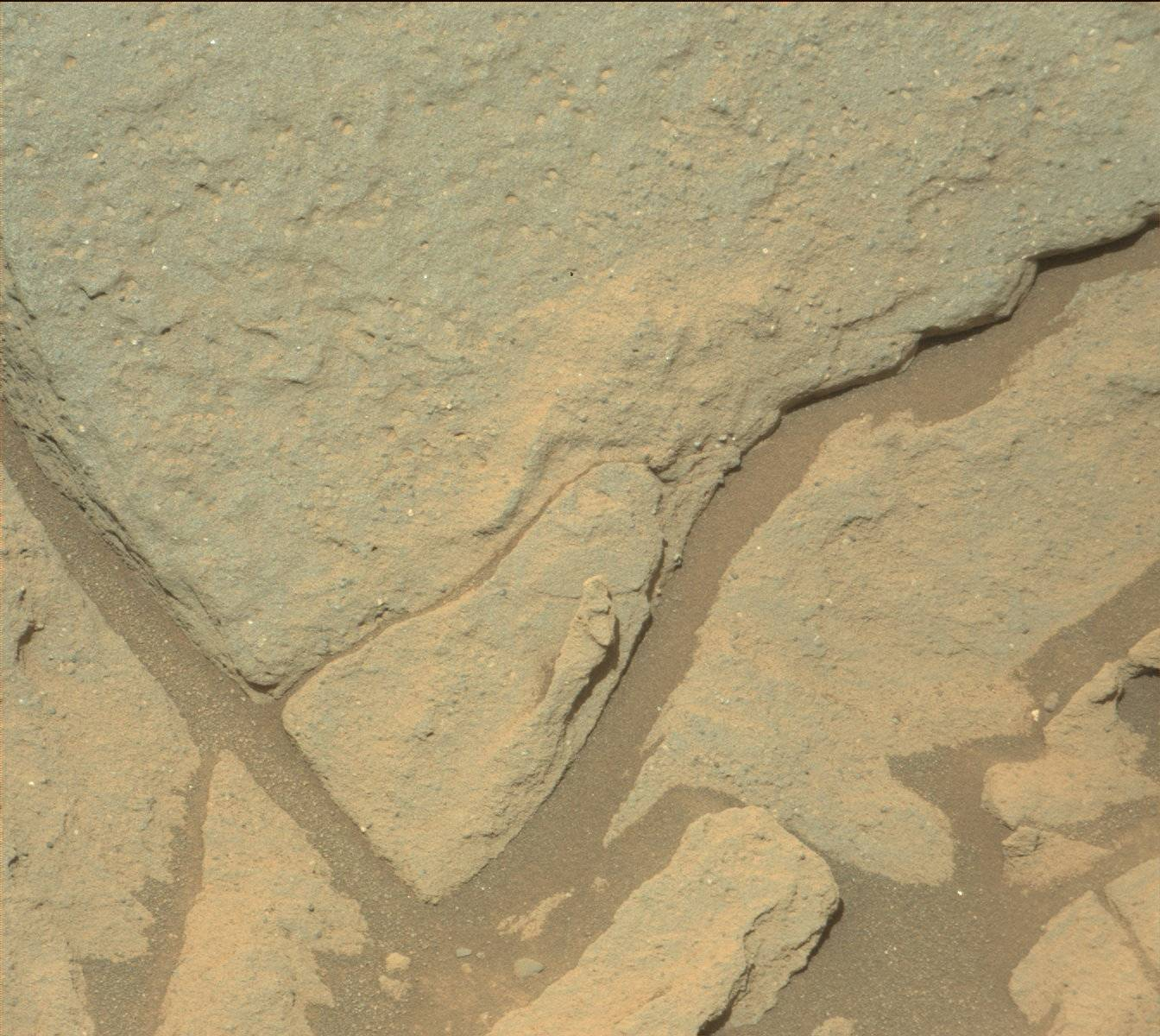 Nasa's Mars rover Curiosity acquired this image using its Mast Camera (Mastcam) on Sol 1044